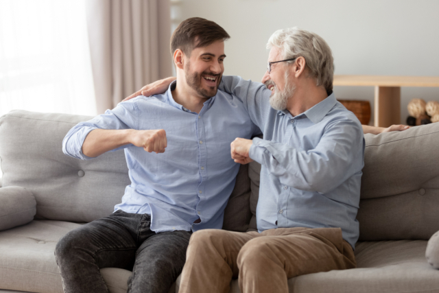 家族の話をする男性の特徴